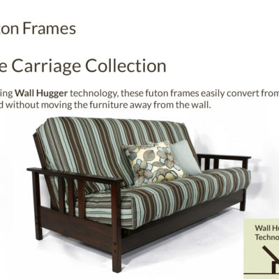 Wall Hugger™ Carriage Collection