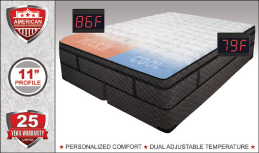 Mystique Luxury Support Softside Waterbed available at Right Futons & Waterbeds in Houston Texas