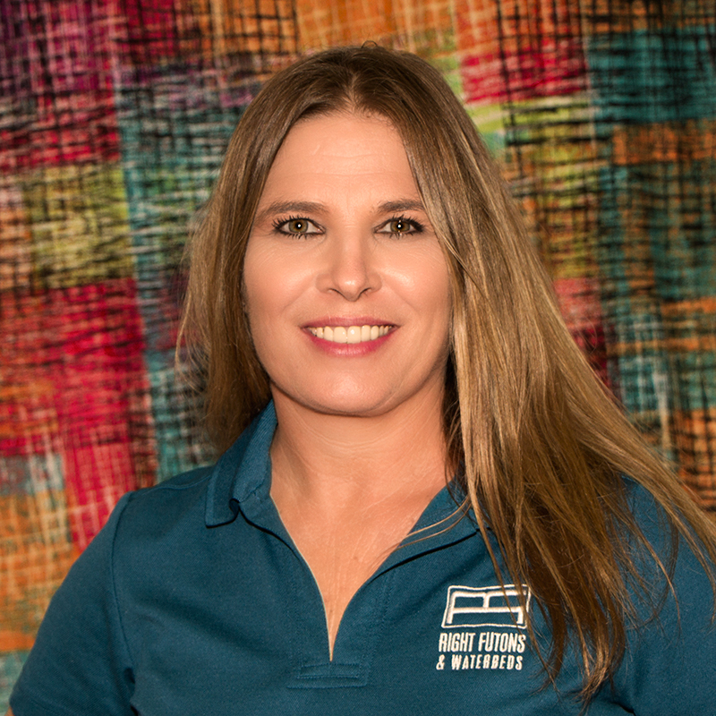 Amanda Baker Owner of Right Futons & Waterbeds