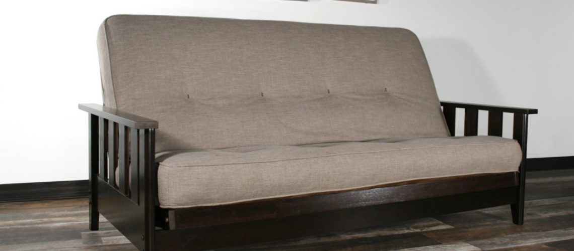 Canby Black Walnut with Linen Stone
